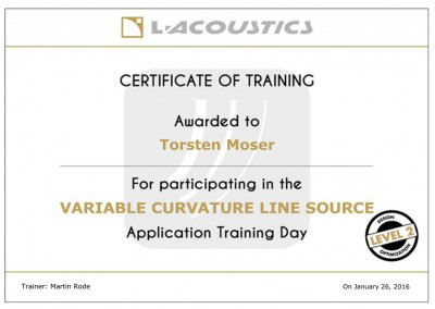 VCLS-Training-Certificate